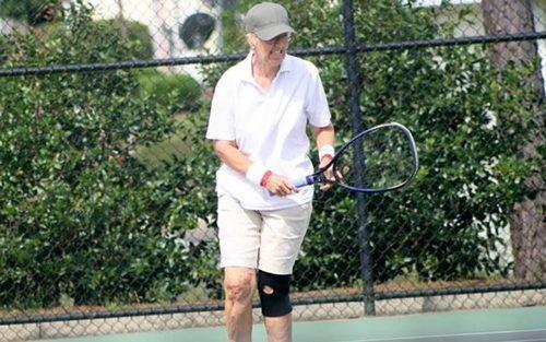 Натурнире ITF разница ввозрасте между соперницами составила 49 лет