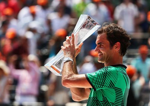 Победитель Miami Open: Федерер