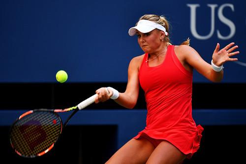 USOpen (WTA): украинка Козлова впервый раз вкарьере прошла во 2-ой круг