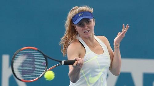 Свитолина желает стать лучшей теннисисткой вистории Украинского государства иобойти Медведева