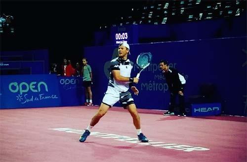 Марчено вышел во 2-ой круг теннисного турнира вМонпелье