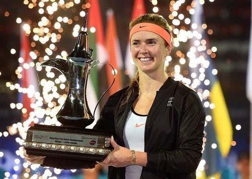 Украинка Свитолина стала лучшей теннисисткой мира всередине зимы