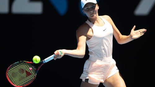 Пятнадцатилетняя Костюк вышла вчетвертьфинал теннисных состязаний вАвстралии